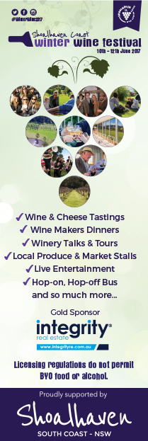 Shoalhaven Coast Winter Wine Festival 2017