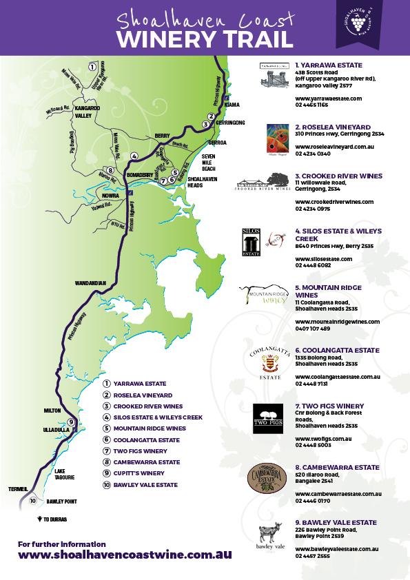 shoalhaven coast wine trail small