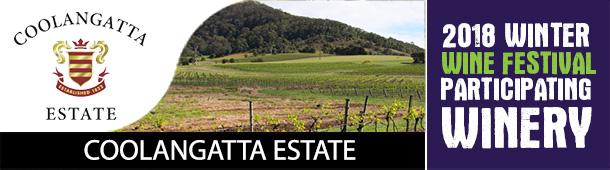 Coolangatta Winery - Participating Winery - 2018 Winter Wine Festival