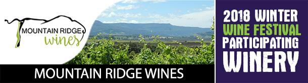 Mountain Ridge Wines - Participating Winery - 2018 Winter Wine Festival