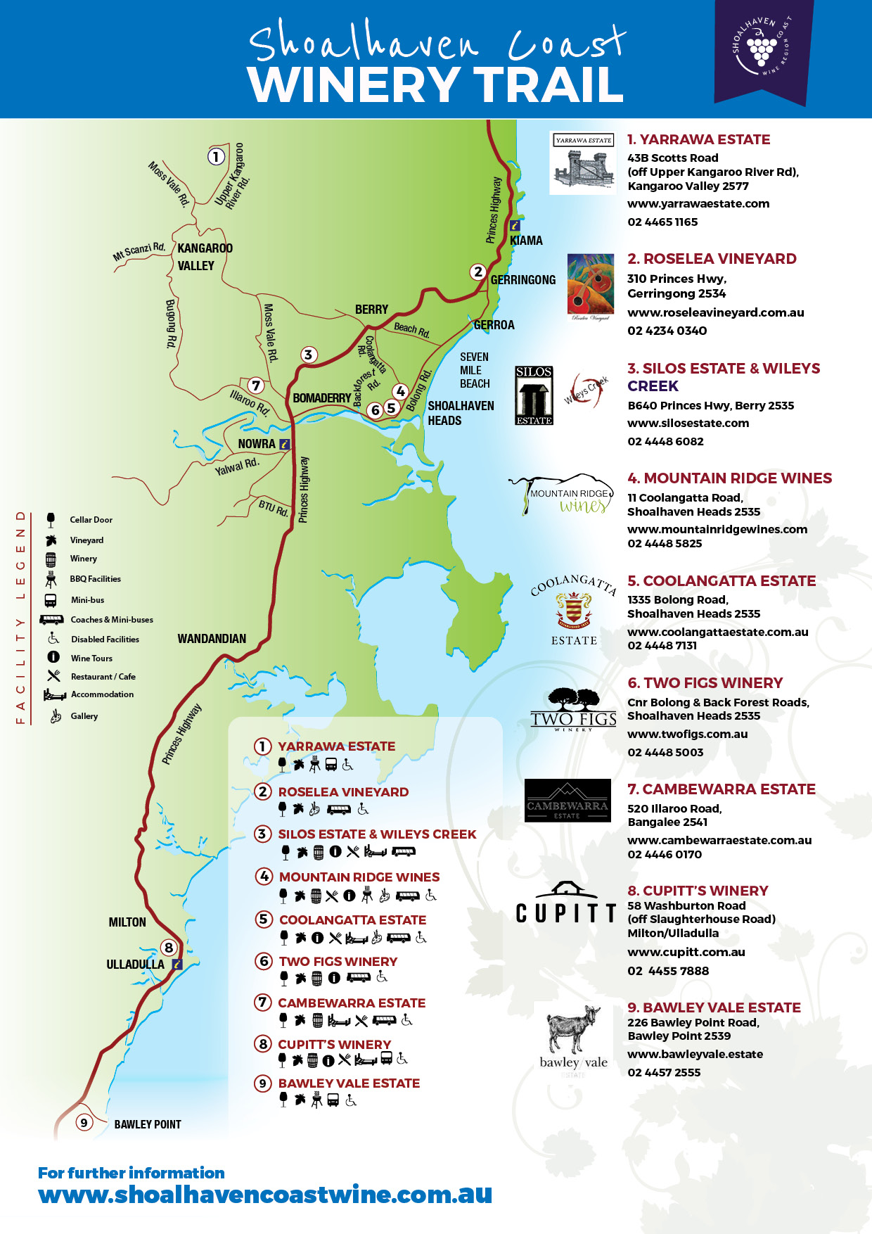 Shoalhaven Coast Wine Trail